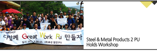Steel & Metal Products 2 PU Holds Workshop