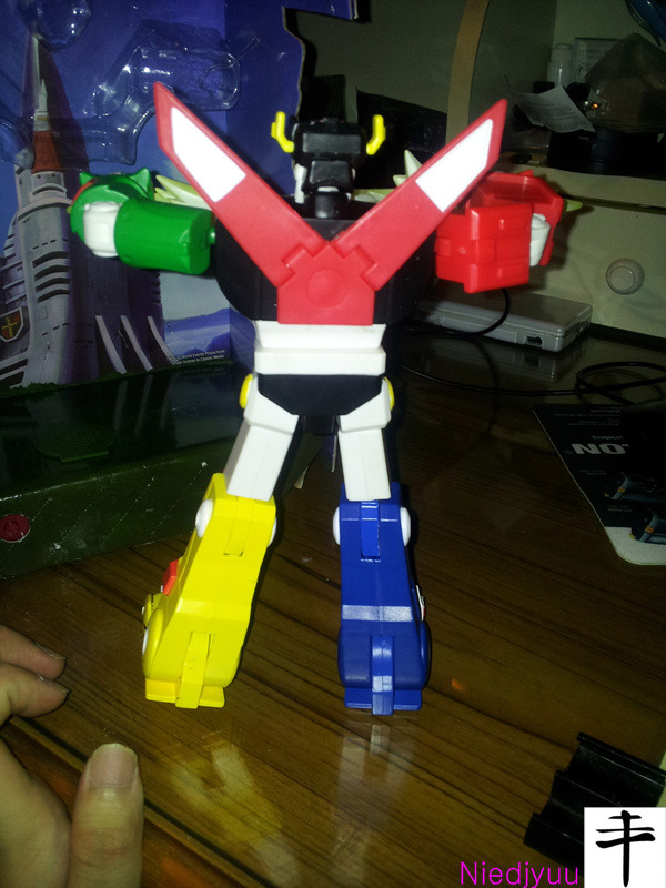 Mattel Voltron-SDCC Edition-Back