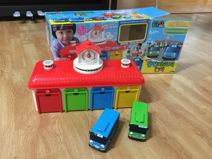 꼬마버스 타요 장난감, 타요 장난감, 타요 차고지놀이, 말하는 중앙 자고지 놀이, 어린이날 선물, 아이 선물, 생일 선물, 장난감 리뷰
