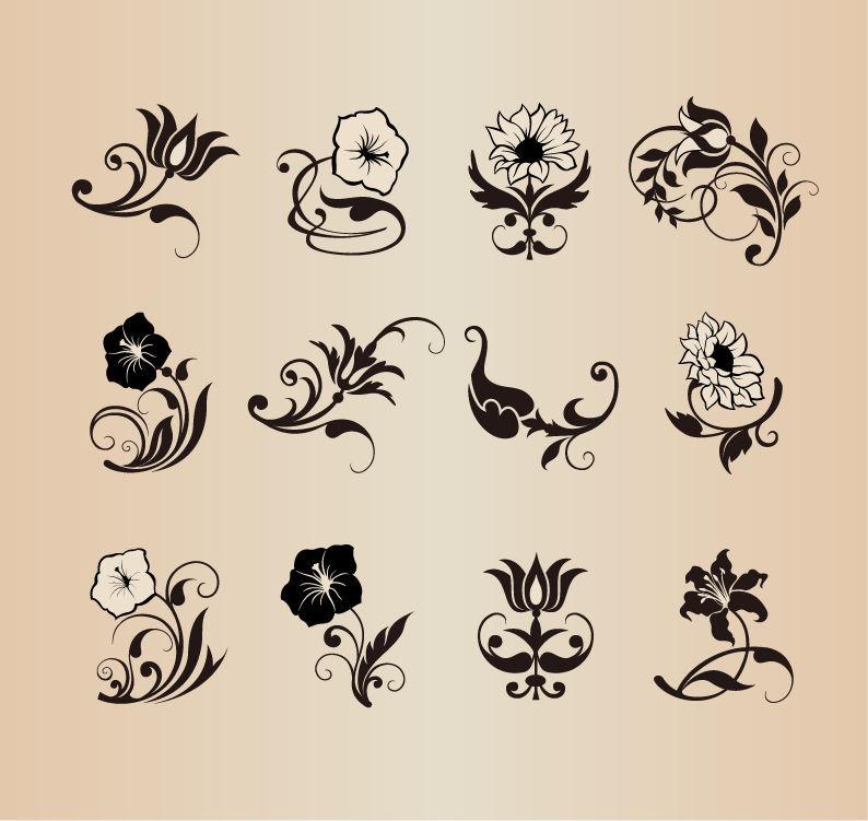 꽃 이미지 소스 다운 모음/예쁜 꽃 그림 소스/이쁜 꽃 일러스트