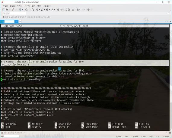 /etc/sysctl.conf 파일