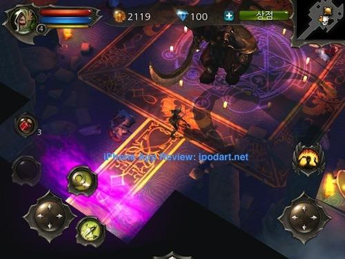 던전헌터4 Dungeon Hunter 4 아이폰 아이패드 RPG 추천 게임