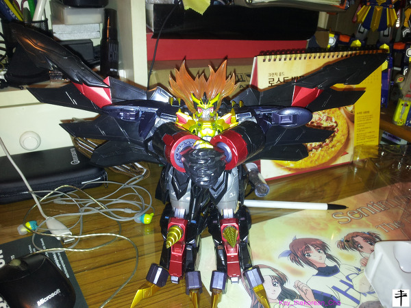 Max Alloy Genesic gaogaigar-Hell and Heaven