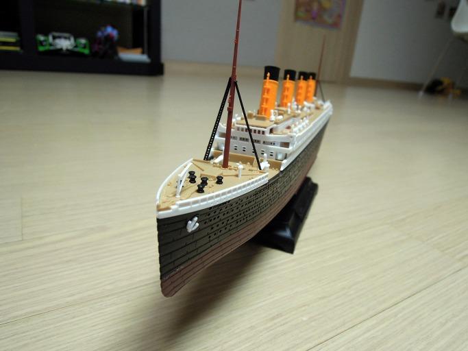 아카데미의 MCP 모델 타이타닉 1/700 프라모델 조립기27