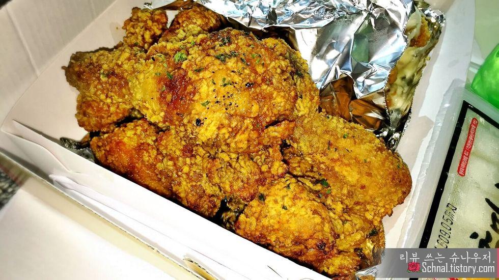 청주 충만치킨 간장티꾸닭