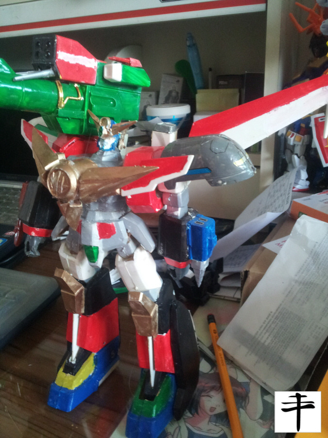 Great Mightgaine Perfect Mode_Fujimi_Left Side_Without Sword
