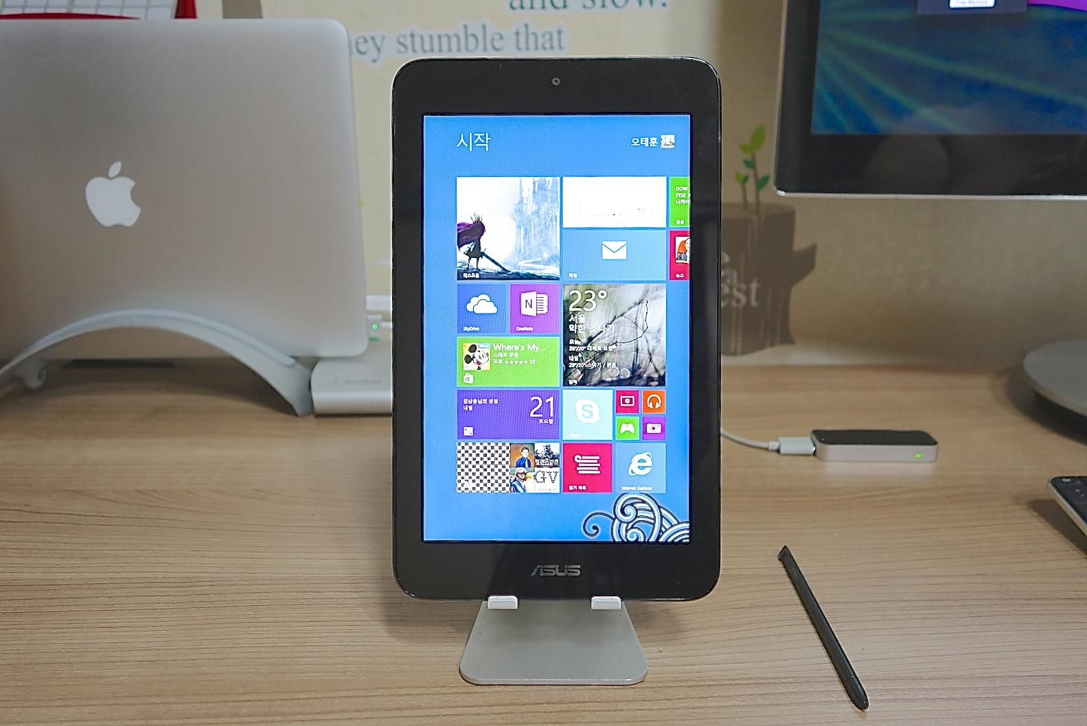 세로본능 윈도 8.1 태블릿 ASUS Vivo TAB Note 8[2]  8인치 태블릿과 생산성 작업