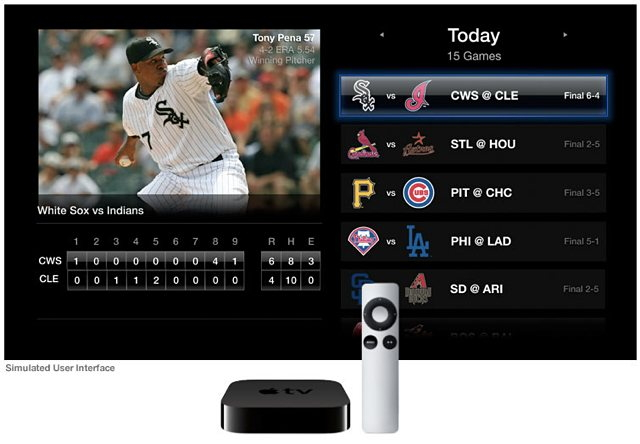 MLB.TV via 애플TV(Apple TV)
