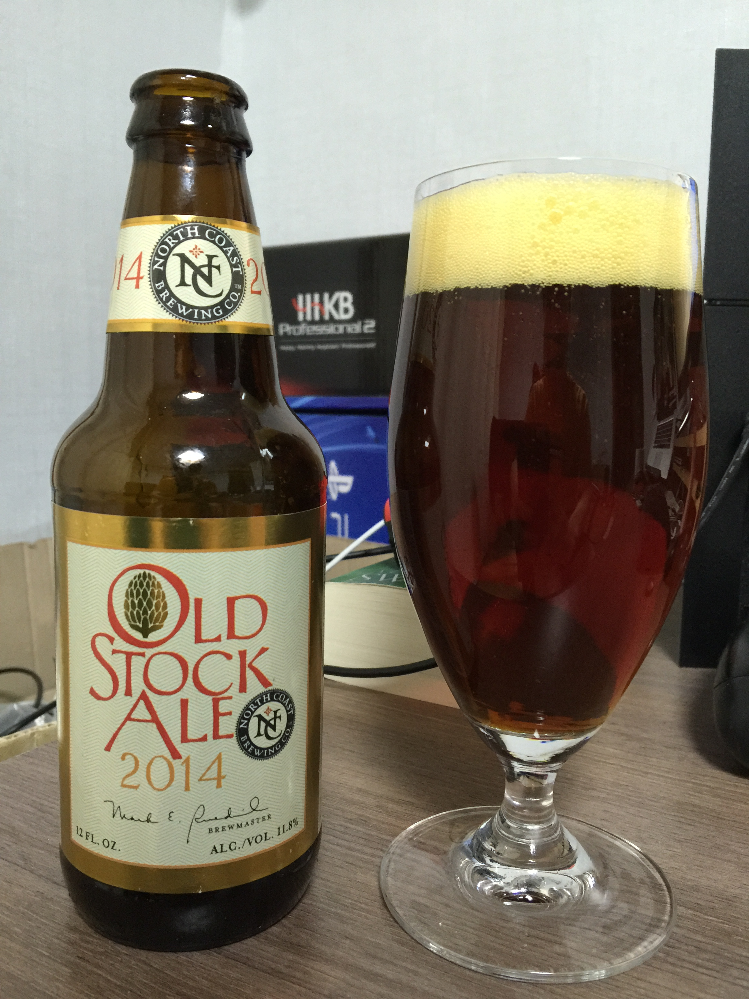 North Coast Old Stock Ale (2014)