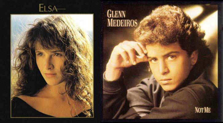 Elsa & Glenn Medeiros Un Roman d'Amitié(Friend You Give ma a Reason)