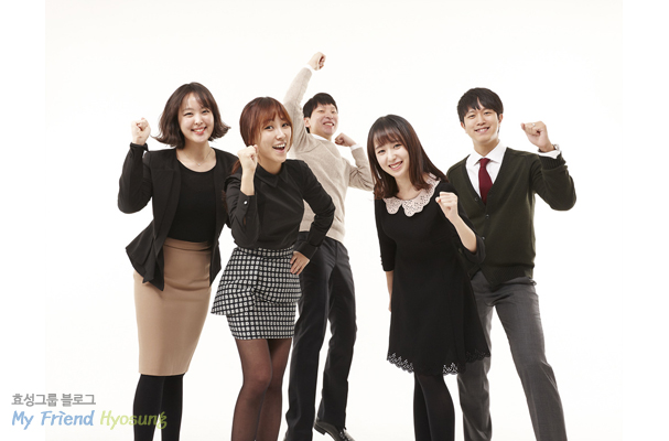 Hyosung Fresh Employees says 'Let's Go for it!''