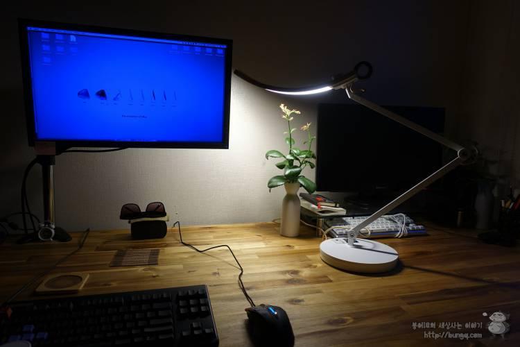 컴퓨터, 책상, 스탠드, 벤큐, bent, wit, 후기