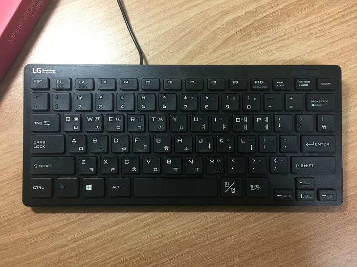 LG 유선 USB 미니 키보드 K-1000