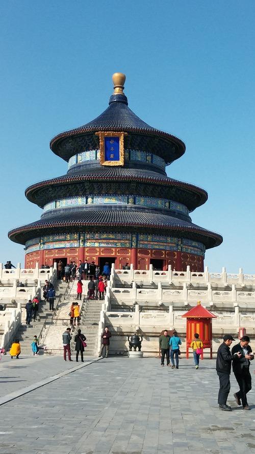 중국 북경의 상징인 기년전