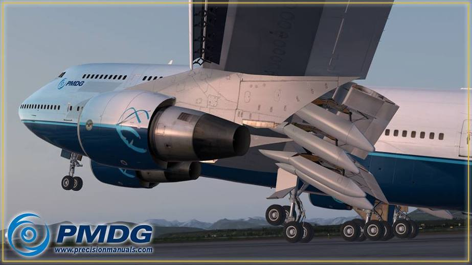 Cleared To Land :: Our latest Update on the PMDG 747-400