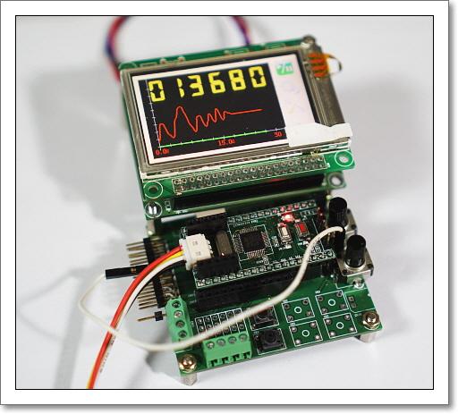 nexp :: [STM32F373 EVM] SDADC 16bit ADC 테스트