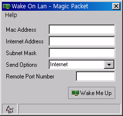 Wake On Lan GUI - Magic Packet