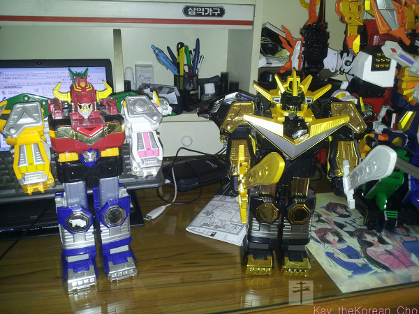 DX galaxy megazord-galaxy megazord-Black Edition