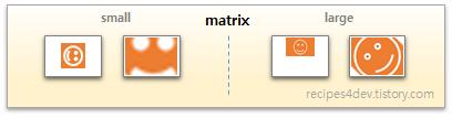 scaleType matrix