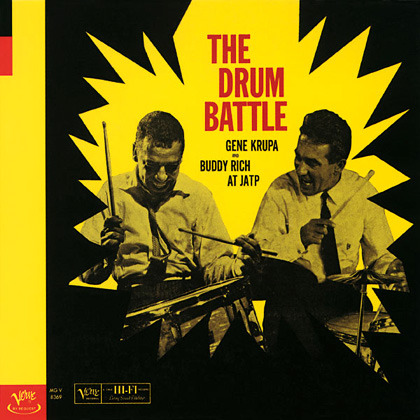 Gene Krupa & Buddy Rich - The Drum Battle At JATP