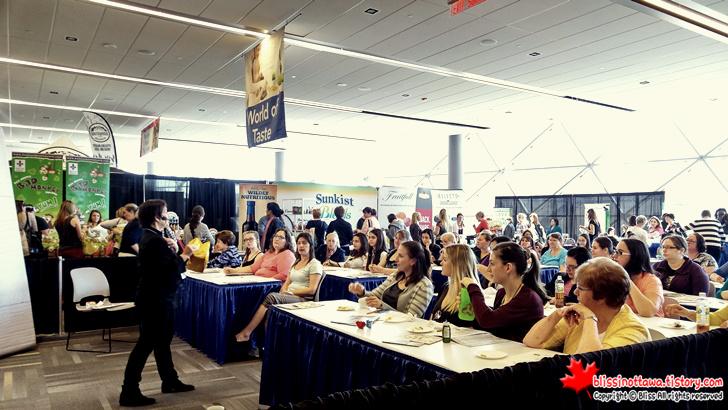 캐나다 최대 규모 '전국 여성 박람회' 치즈 강의