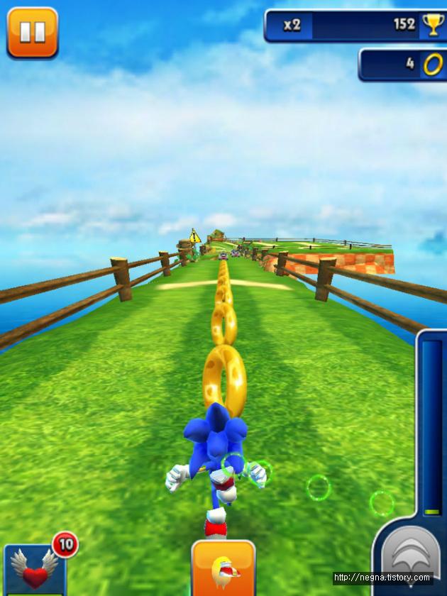 아이패드 소닉 대쉬(Sonic Dash)