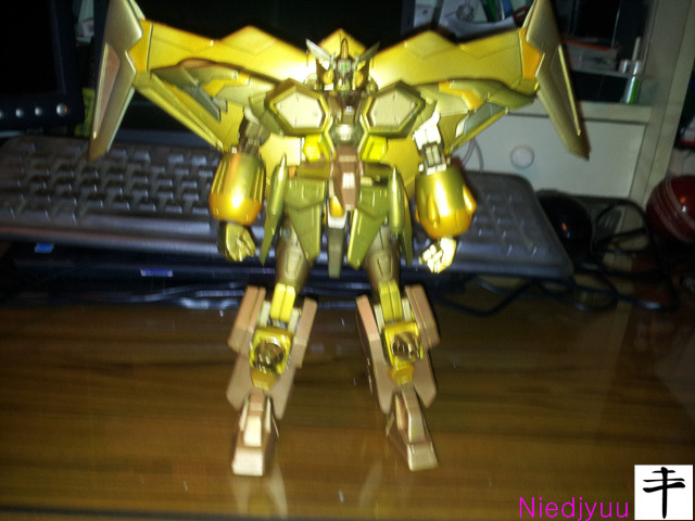 Kotobukiya Gaofighgar Gold Edition-front-Ultech wing Operated
