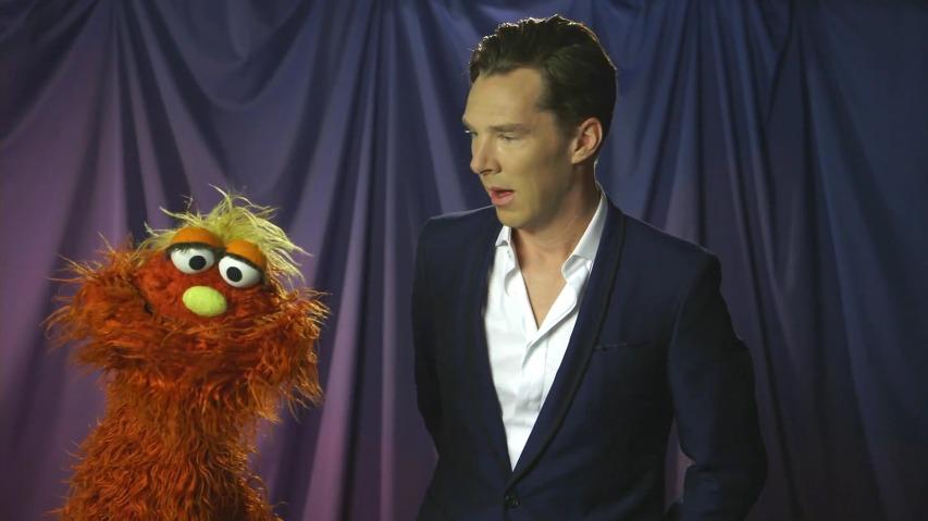 세서미 스트리트(Sesame Street)에 출연한 셜록, 베네딕트 컴버배치(Benedict Cumberbatch).