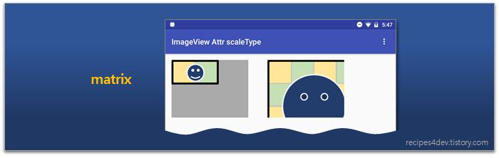 scaleType 속성 matrix