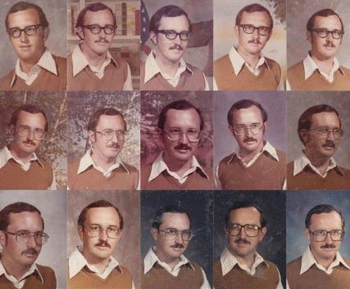 40년간 같은 옷 교사 1