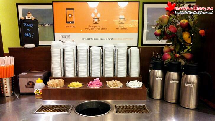 캐나다 커피 체인점 Second Cup
