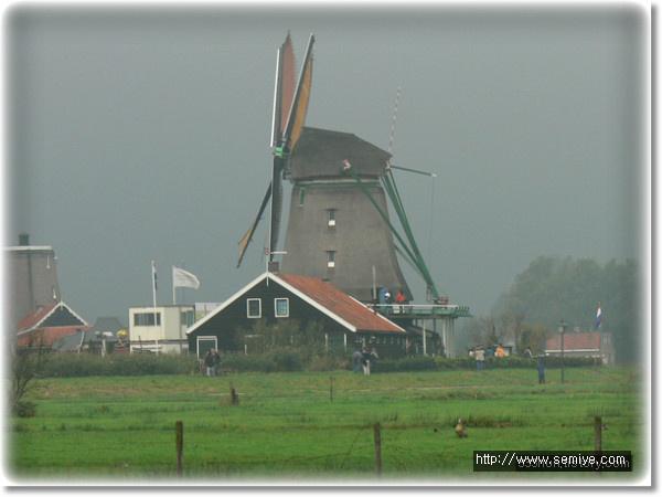 풍차-네덜란드-풍차마을