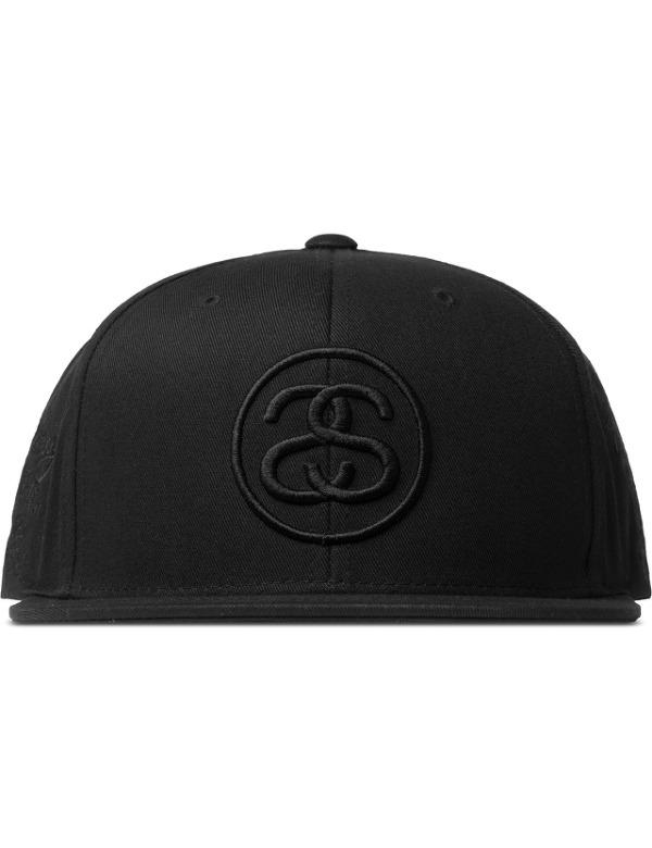 STUSSY  Black SS Link Tour Cap
