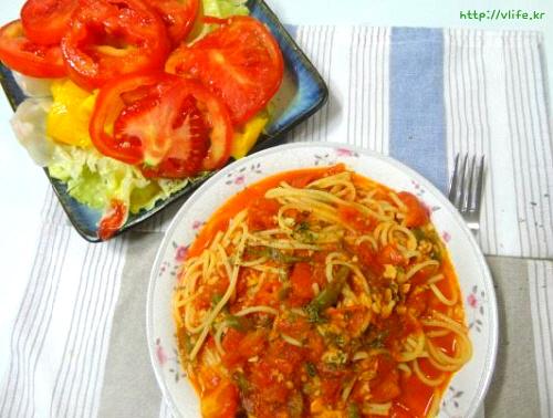 토마토스파게티 만들기
