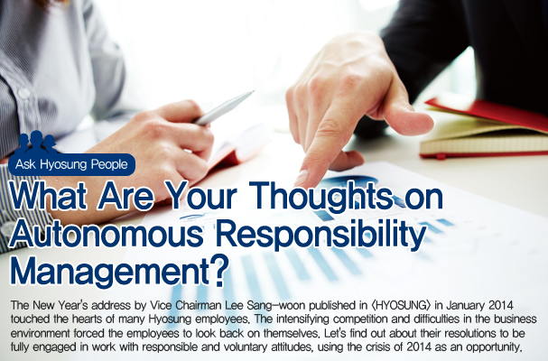 What are your thoughts on autonomous responsibility management?