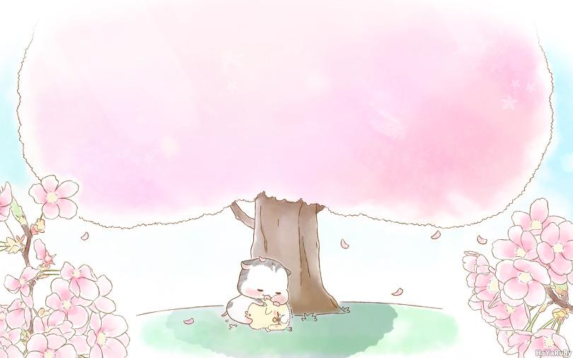 판&아리_봄날의 휴식