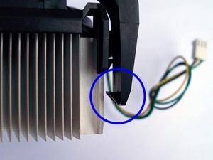 냉각팬 방열판 고정대 조립 방법