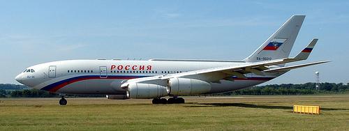 러시아 대통령 전용기 (IL-96-300 기종)