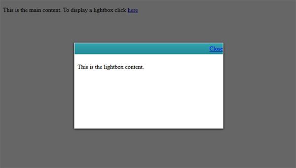 Web Club :: Pure CSS : Layer-popup Auto center box #1