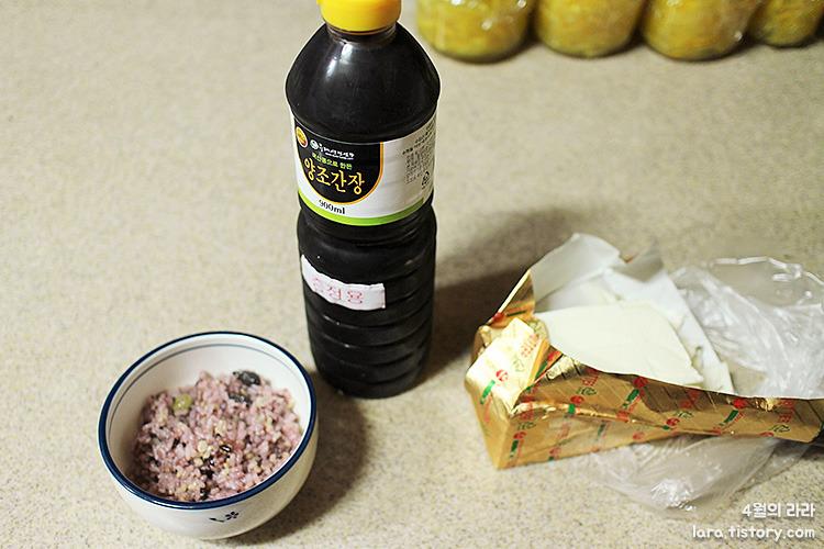 추억의버터밥_버터간장밥