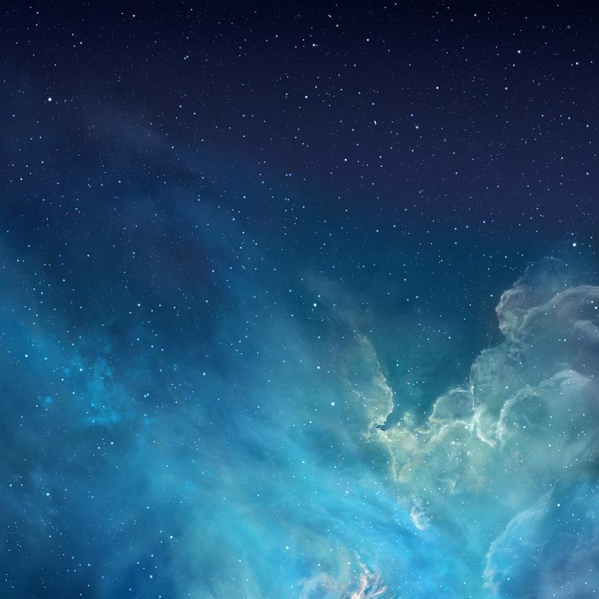 iOS7 iPad Retina Wallpaper