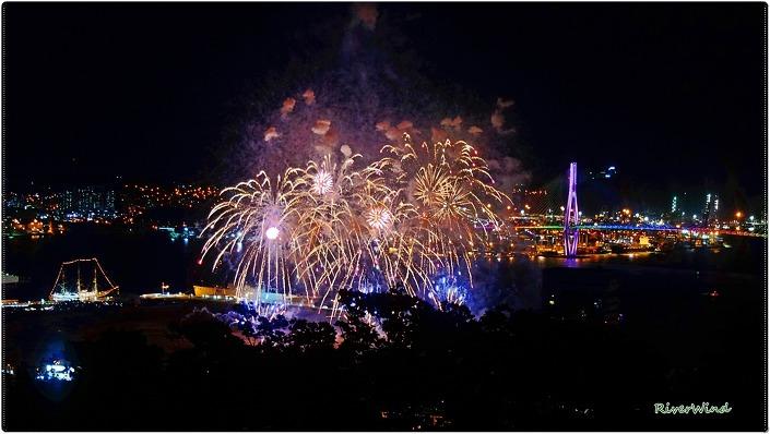 부산항축제 불꽃놀이