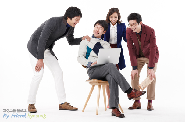 Chemicals PG Planning and Management Team Goo Ha-yeon, Packaging PU Jincheon Plant Production Team Park Sung-hoon, Chemicals PG Planning and Management Team Lee Jun-ha, Optical Film PU Production Team Lee Sang-cheol
