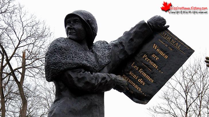 국회의사당 동상을 통해 알게 된 캐나다 여성 참정권의 역사