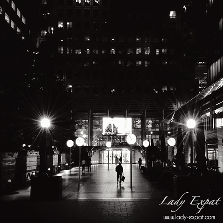 Lonely City. Lady Expat.