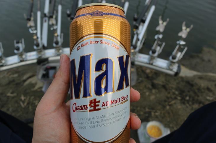 붕어낚시 맥주 한잔