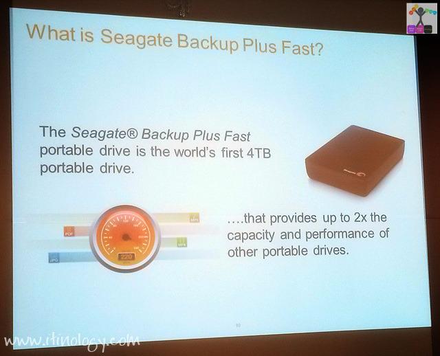 Seagate Backup Plus Fast & Backup Plus Slim