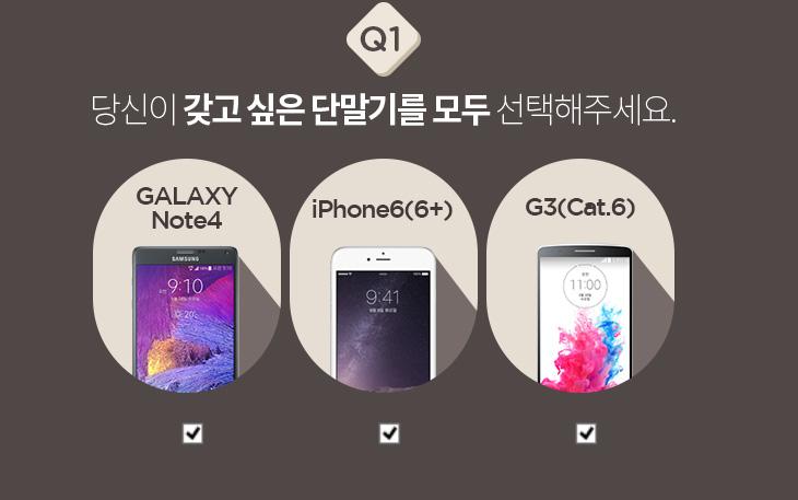 갤럭시노트4, 아이폰6 ,LG G3 ,이벤트,증정,event,유플러스,엔제리너스 아메리카노 , 도미노 스위트 히든엣지L + 콜라, U+쇼핑, 적립금, 50000원, 1000원,갤럭시노트4 아이폰6 LG G3 이벤트가 있군요. 유플러스에서 100% 쏘는 이벤트가 있습니다. 10월 25일까지 응모가 가능하구요. 아이폰6은 아직 못써봤지만, 갤럭시노트4, LG G3는 사용해봤는데요. 물론 3개 폰 모두 다 좋습니다. 그런데 여러분은 갤럭시노트4 아이폰6 LG G3 이벤트에서 어떤 폰을 선택하실 건가요? 모두 다 의견이 분분할듯한데요. 드디어 화면 사이즈가 크게 나온 아이폰6인가 아니면 상당히 최신기술로 무장한 갤럭시노트4인가. 아니면 무난하면서 강한 LG G3인가. 저도 궁금하네요. 곧 3개의 제품 다 써보길 바라면서 응모를 해봅시다. 갤럭시노트4 아이폰6 LG G3 이벤트에 응모하면 엔제리너스 아메리카노 , 도미노 스위트 히든엣지L + 콜라, U+쇼핑 적립금 50000원 1000원을 준다고 합니다. 1000원은 무조건 당첨입니다. 그리고 제가 곧 갤럭시노트4 리뷰도 자세히 올릴 계획이니 기대해주세요.