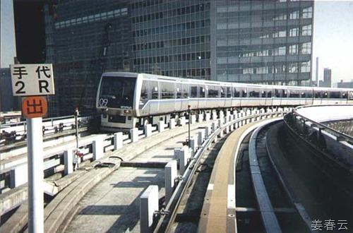 일본에 가면 한번은 타봐야 한다는 유리까모메 – 신바시역에서 타고 오다이바로 가면서 체험