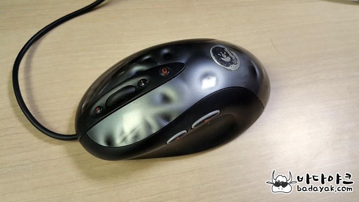 유선 마우스 로지텍 MX518·MX510